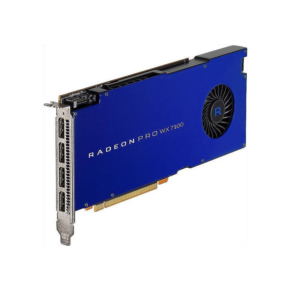 AMD Radeon Pro WX7100 8GB GDDR5 PCIe Workstation Grafikkarte 4x DP