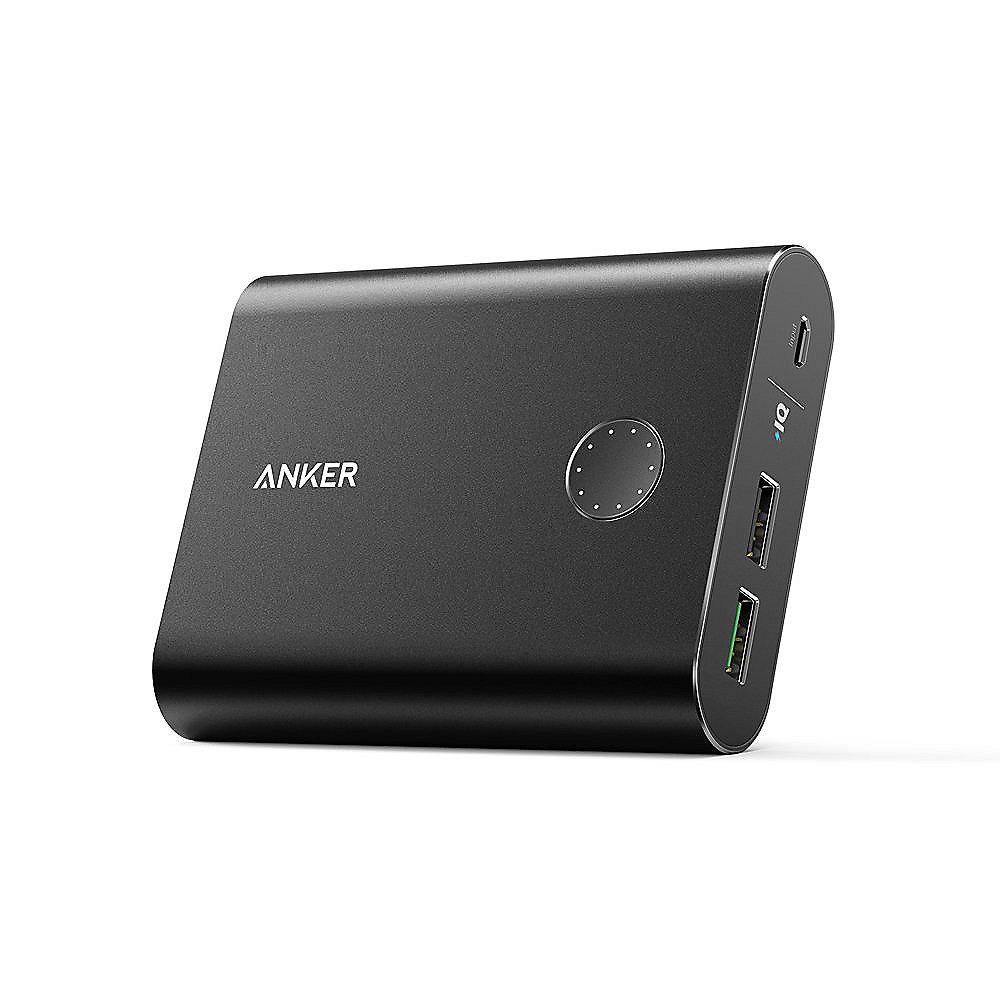 Anker AK-A1316011 PowerCore  13400 mAh Powerbank Quick Charge 3.0 schwarz