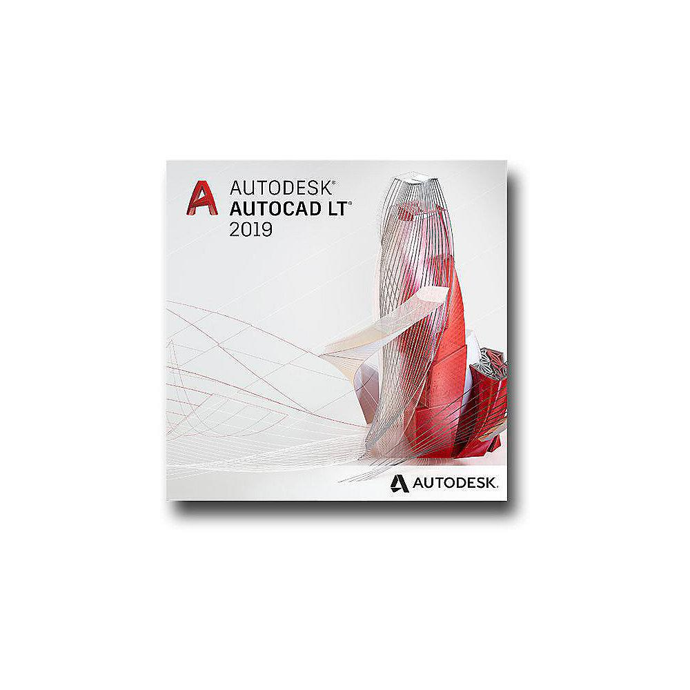 AutoCAD LT 2019 Commercial Single-user ELD 2-Year Subscription Switched From MNT