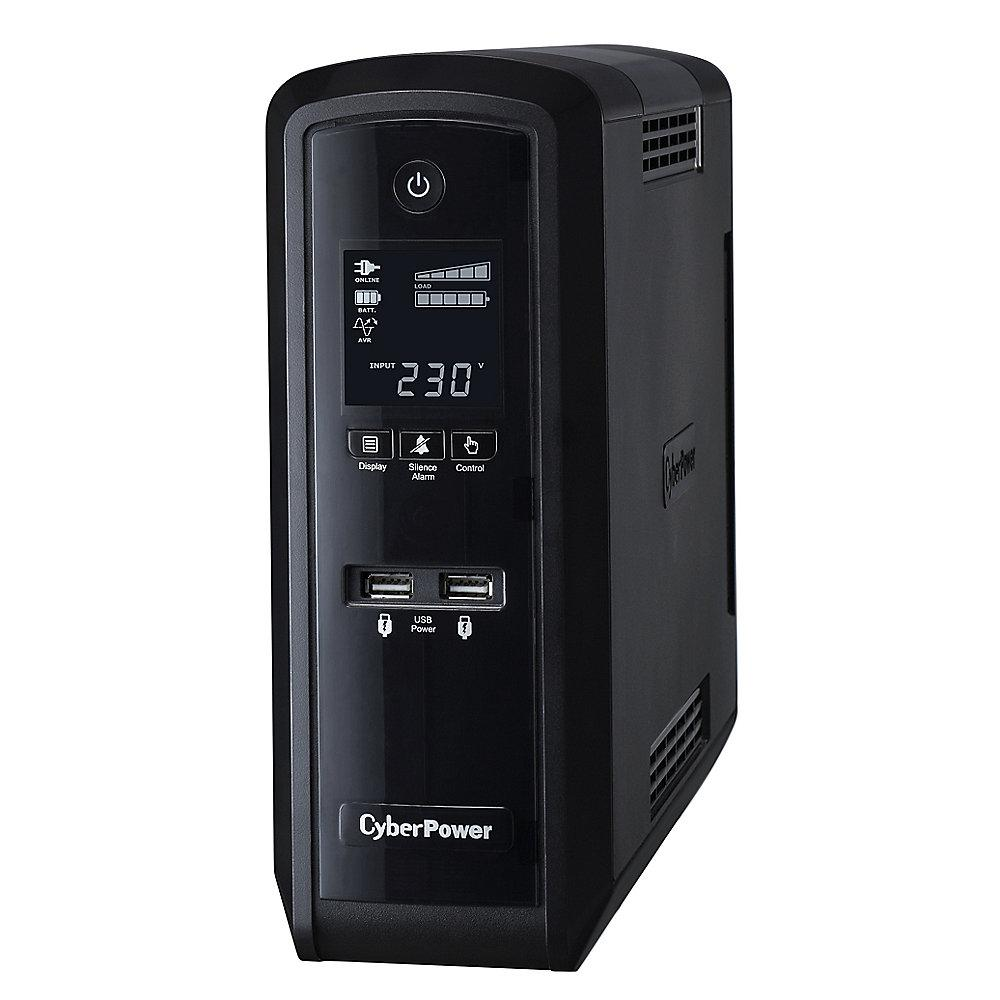 CyberPower Adaptive Sinewave CP1300EPFCLCD USV Mac/ PC