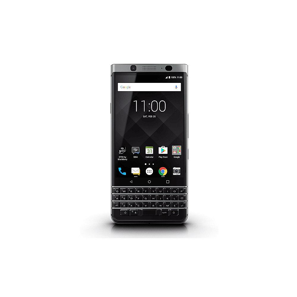 DEMO UNIT BlackBerry KEYone silber Android 7 Smartphone