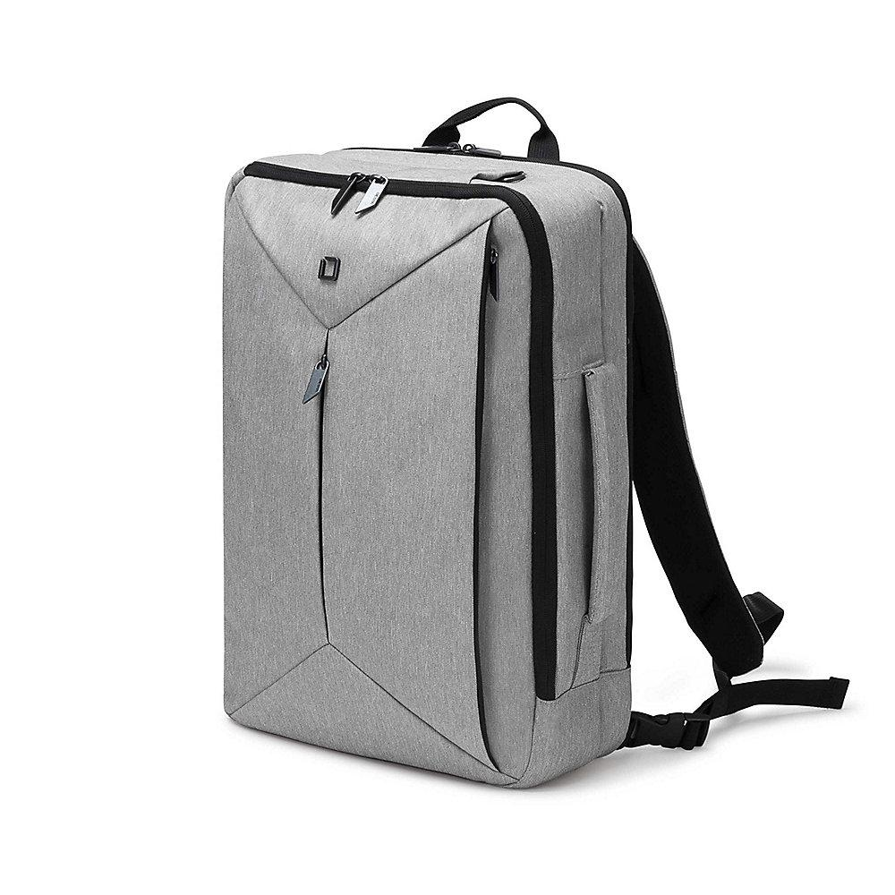 "Dicota Backpack Dual EDGE Notebookrucksack 39,62cm (13""-15,6"") light grey"