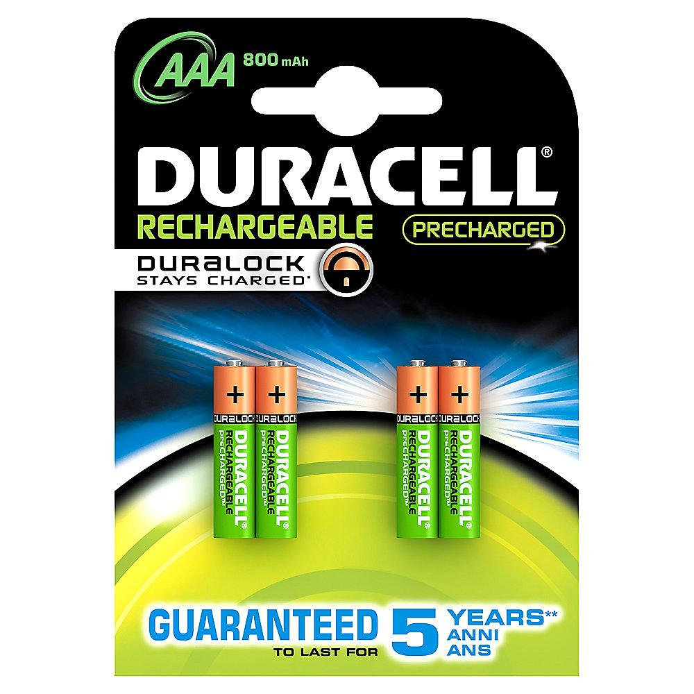 DURACELL StayCharged Akku Micro AAA HR3 850mAh 4er Blister