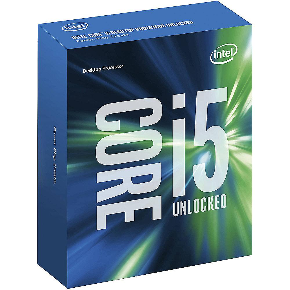 Intel Core i5-7600K 4x3,8GHz 6MB-L3 Turbo/IntelHD Sockel 1151 (Kabylake)