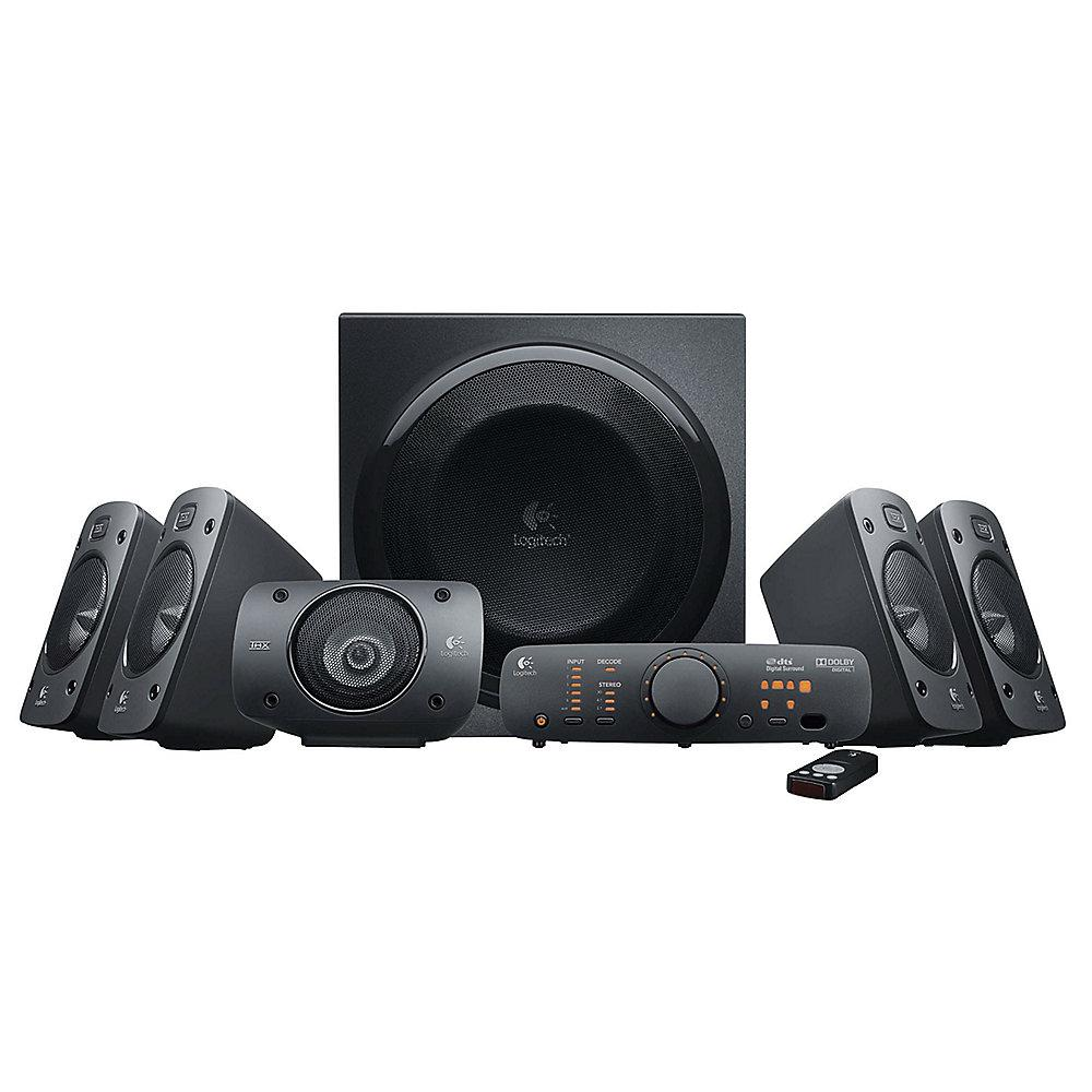 Logitech Z906 5.1 THX Digital Home Cinema Surround Lautsprechersystem 980-000468