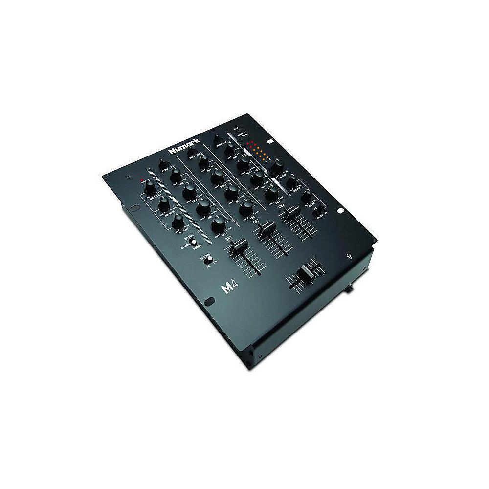 Numark M4 Black 3-Kanal Scratch Mixer