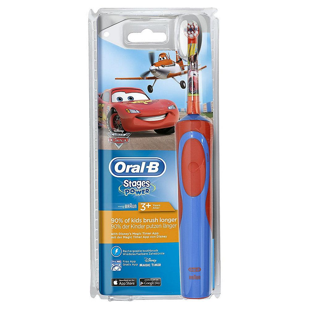 Oral-B Stages Power Cars-Planes Elektrische Zahnbürste für Kinder ab 3 J.