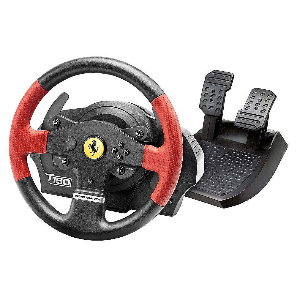 Thrustmaster T150 Ferrari Edition Force Feedback Racing Wheel PS3/PS4/PC