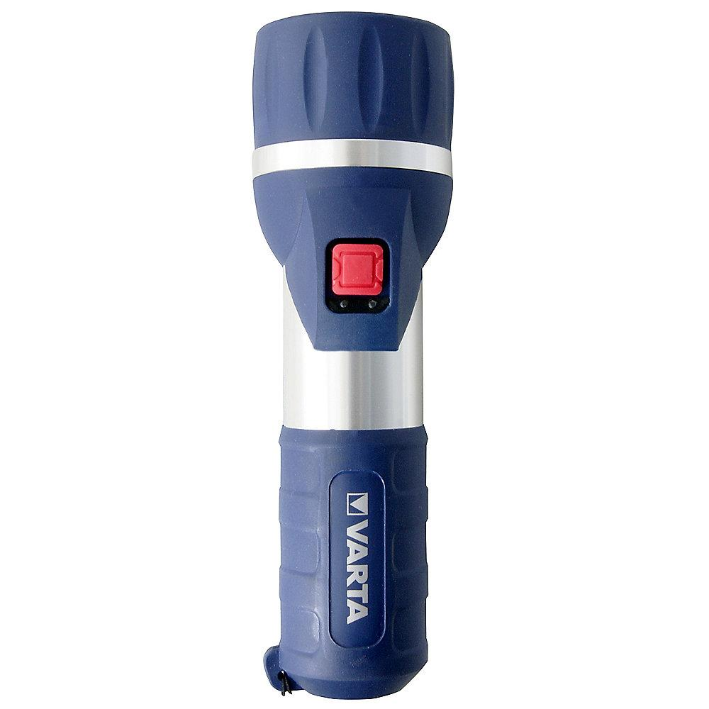 VARTA Taschenlampe 1 Watt LED Day Light 2D inkl. Batterien