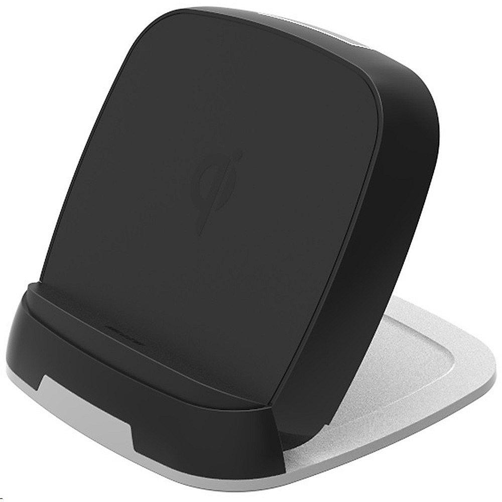 Zens Ultra Fast Wireless Charger Stand, 10W, Qi-Standard, schwarz