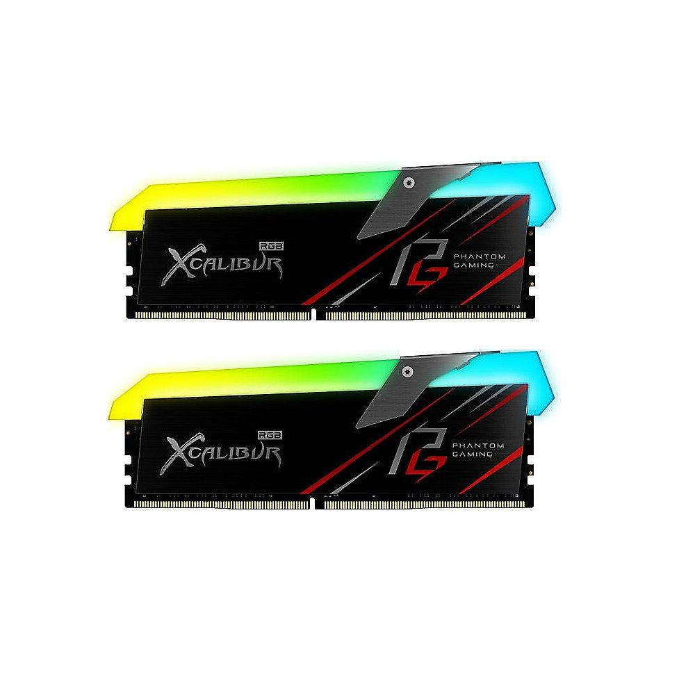 16GB (2x8GB) ASRock Phantom Gaming XCALIBUR DDR4-3600 MHz RGB Speicher Kit