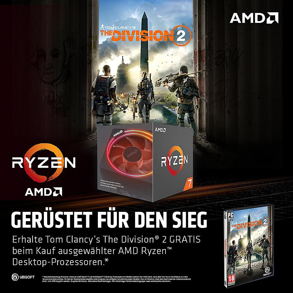 "AMD Spiele Aktion ""Tom Clancys: The Division 2"" zu Ryzen 5/7 2000 Serie CPU´s"