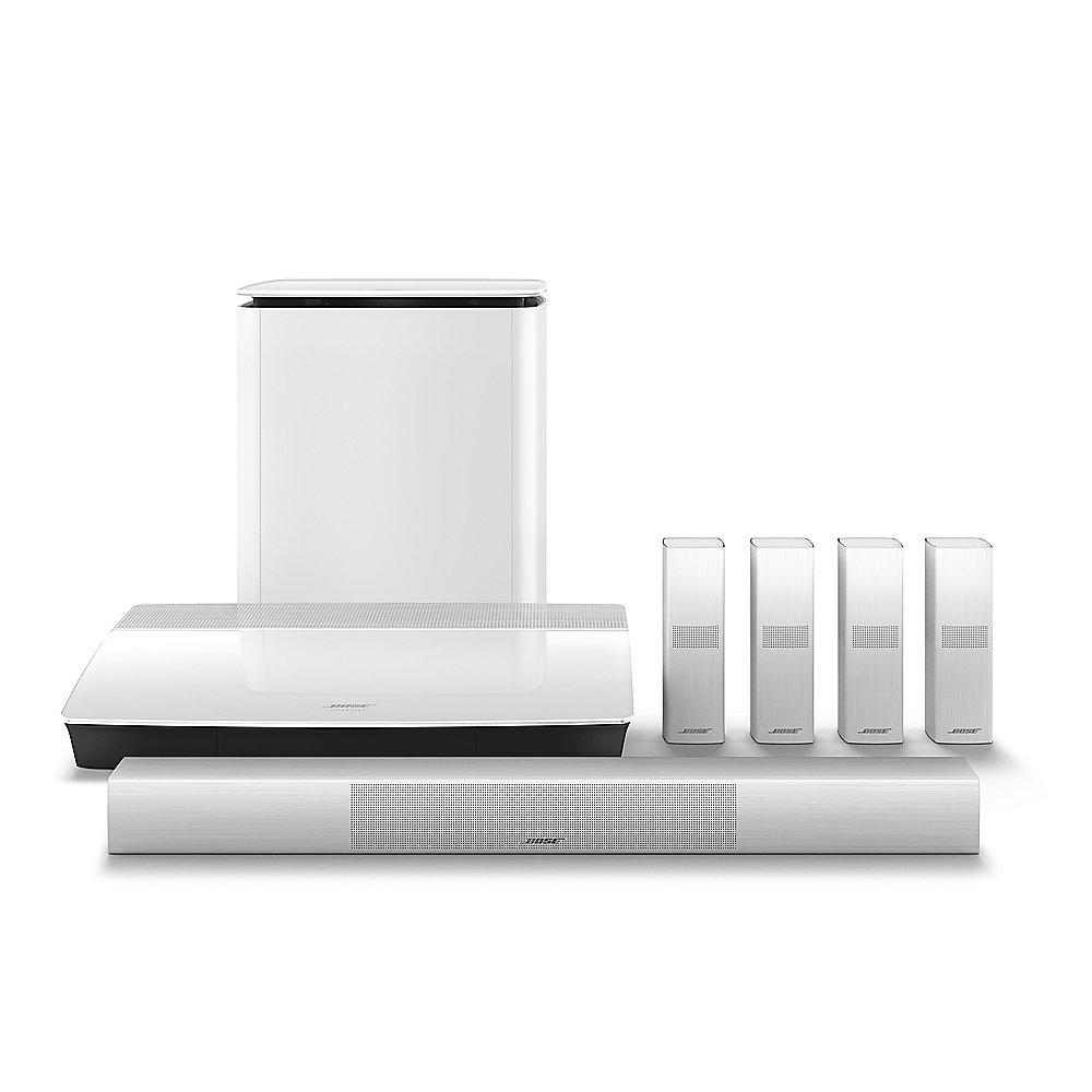 BOSE Lifestyle 650 Home Entertainment System 5.1 weiß