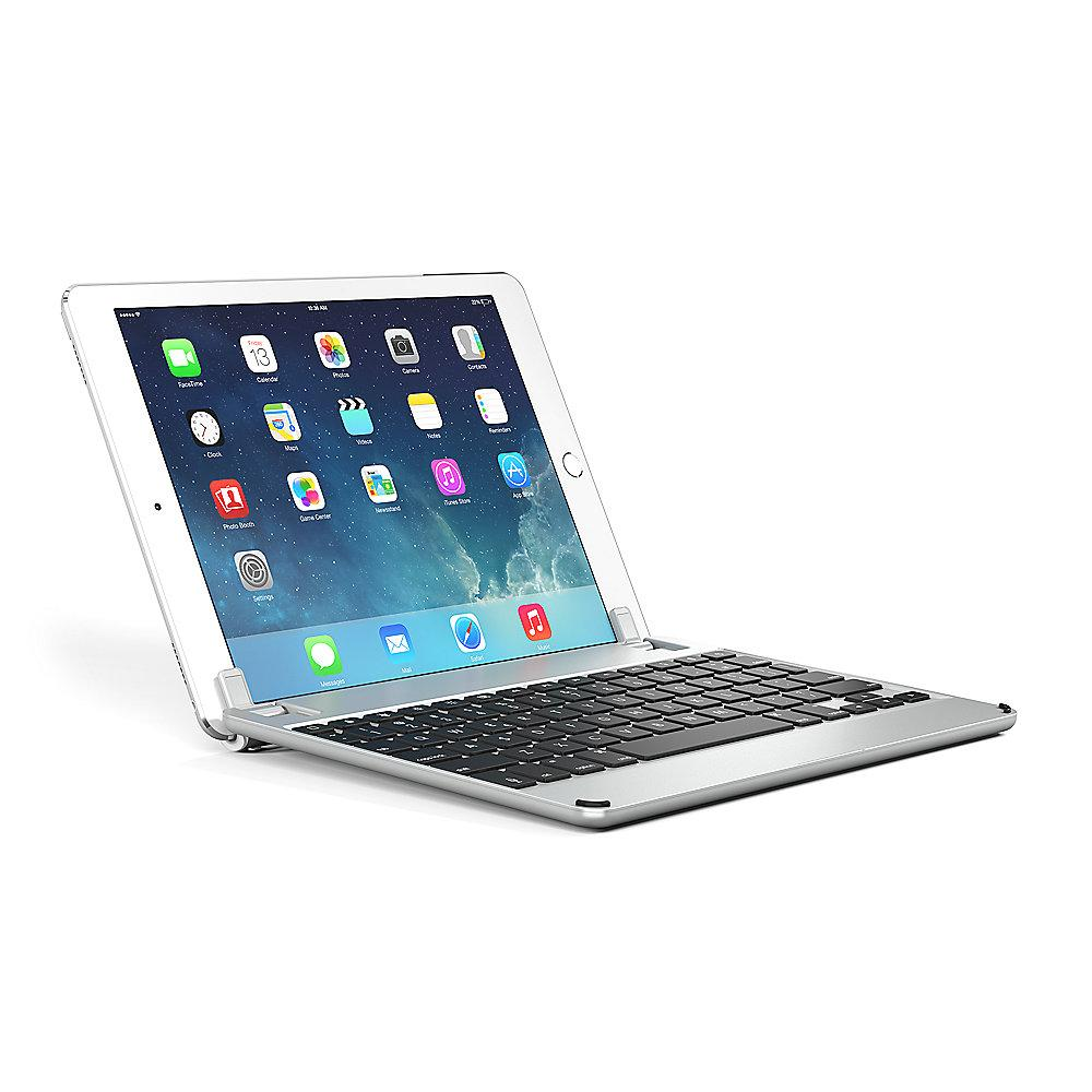 Brydge 9.7 Bluetooth Tastatur für iPad Air/Air 2/Pro/New2017 silber