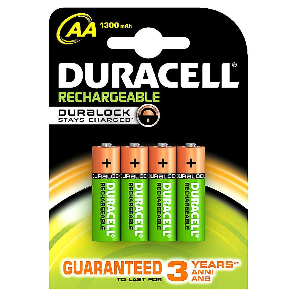 DURACELL StayCharged Akku Mignon AA HR6 2500mAh 4er Blister