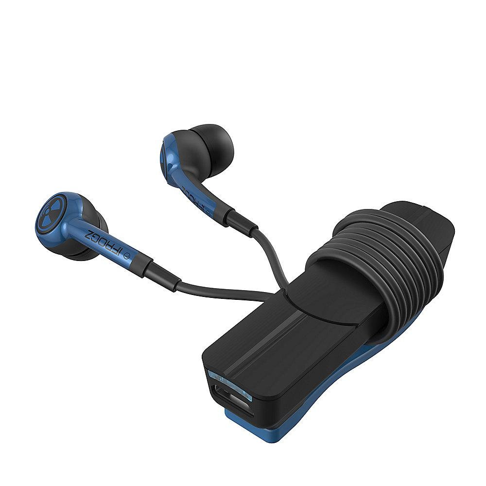 ZAGG iFrogz Plugz Wireless Headset, blau