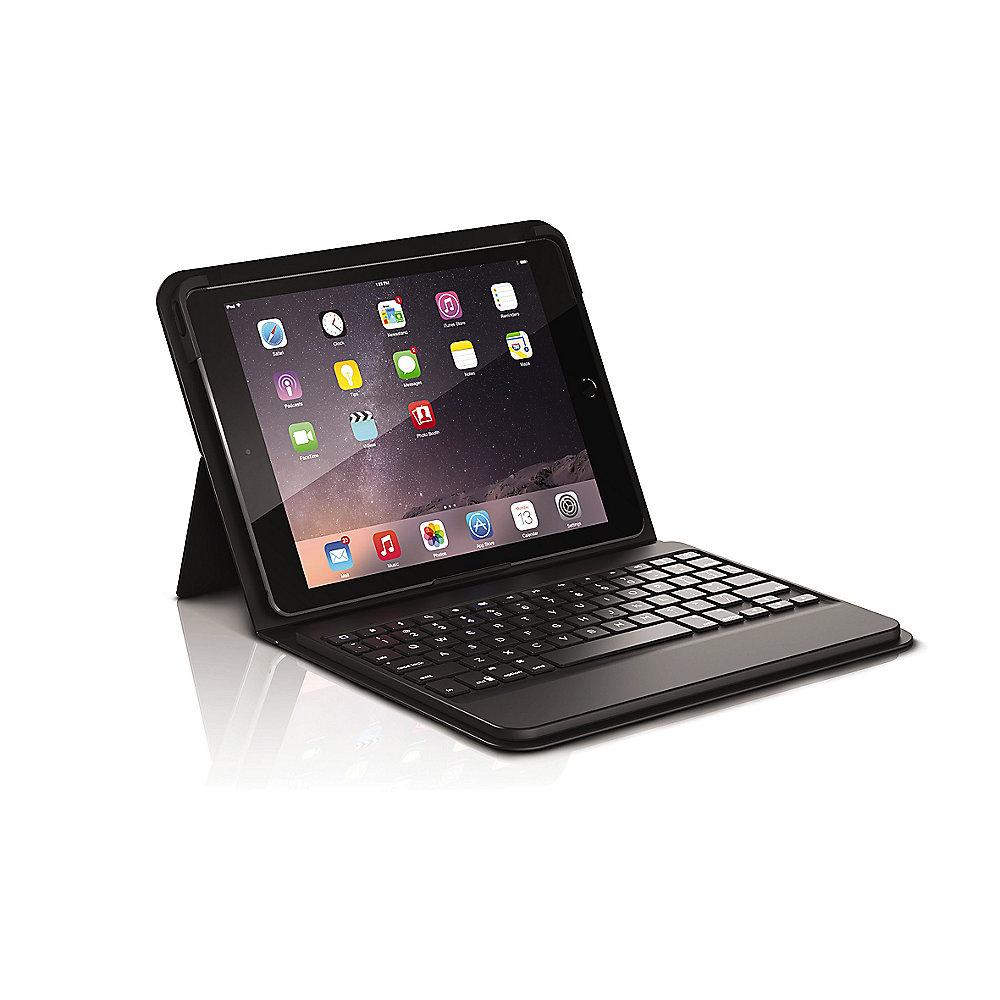 ZAGG Messenger Folio Case Keyboard DE für Apple iPad (Pro) 9.7 schwarz