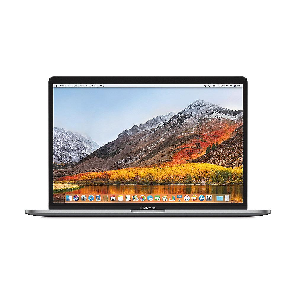 "Apple MacBook Pro 15,4"" 2018 i7 2,6/16/512 GB Touchbar RP560X Silber ENG US BTO"