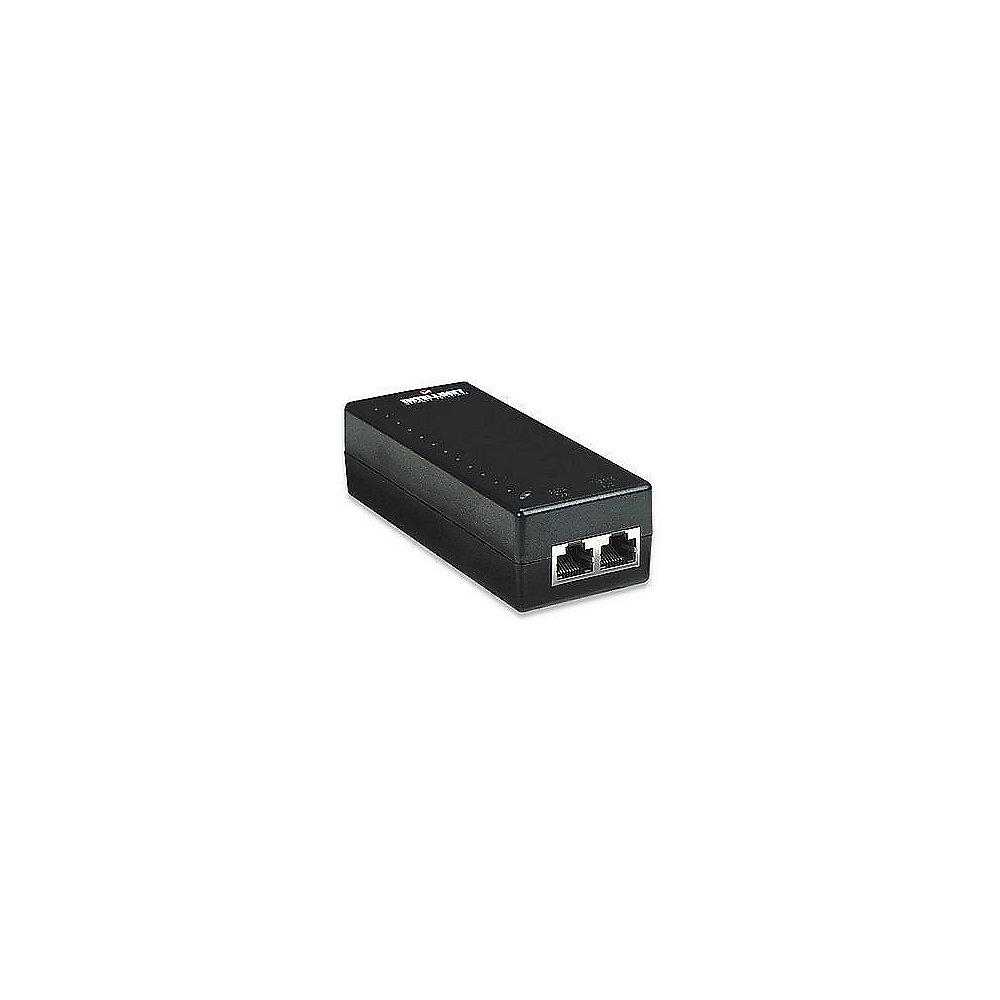 Intellinet 1-Port PoE Injektor 15,4W IEEE 802.3af konform 524179