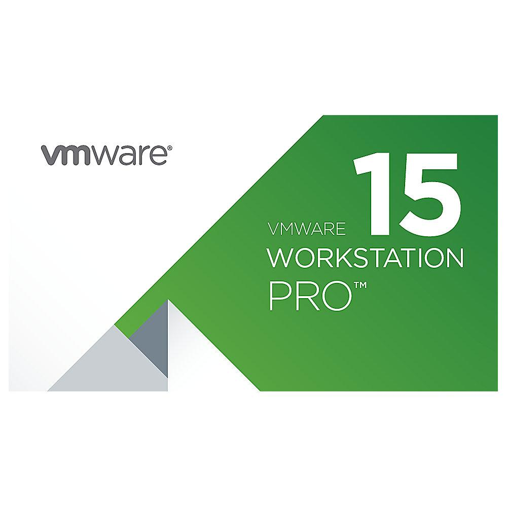 VMware Workstation 15 Pro Lizenz EDU Upgrade von Player 15, EN